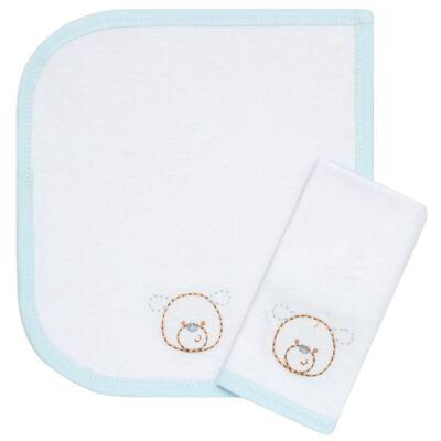 Imagem 1 do produto Kit com 2 fraldas de boca em malha Ursinho - Classic for Baby