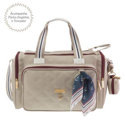 Imagem 1 do produto Bolsa para bebe Anne Náutica Marfim - Masterbag