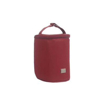 Imagem 4 do produto Bolsa maternidade + Frasqueira térmica + Porta Mamadeira Laço Vermelho - Hey Baby