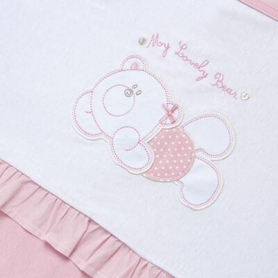 Imagem 2 do produto Manta para bebe babadinhos em suedine Sweet Little Bear - Vicky Lipe