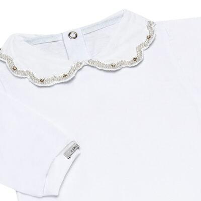 Imagem 3 do produto Body com Mijão para bebe em malha Fiorella - Roana