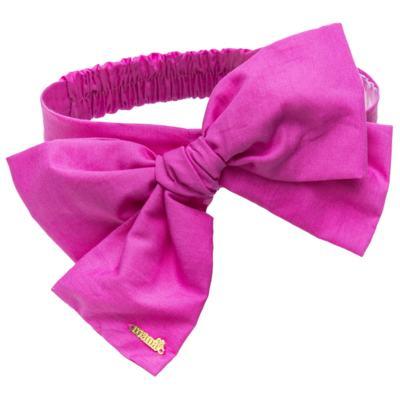 Imagem 4 do produto Pack: 2 Faixas Maxi Laço em tricoline Pink/Floral - Roana