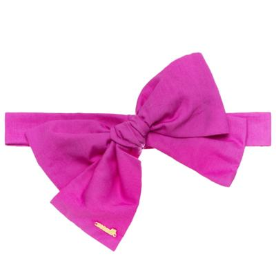 Imagem 5 do produto Pack: 2 Faixas Maxi Laço em tricoline Pink/Floral - Roana