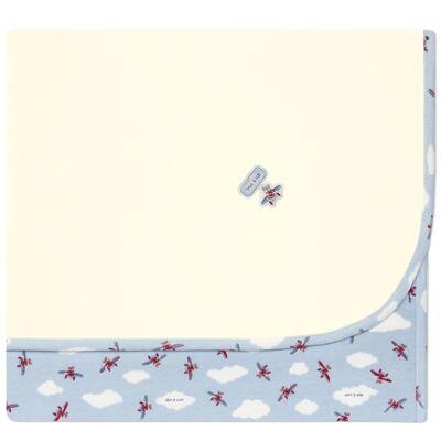 Imagem 1 do produto Manta para bebe em algodão egípcio c/ jato de cerâmica e filtro solar fps 50 Dakota - Mini & Kids