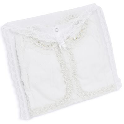 Imagem 8 do produto Conjunto Pagão Yasmine: Casaqueto em tricoline + Body longo + Calça - Roana