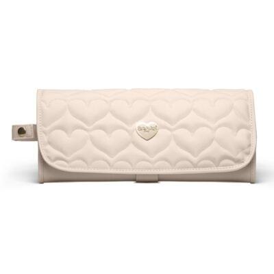 Imagem 2 do produto Trocador Portátil para bebe Corações Matelassê Caqui - Classic for Baby Bags