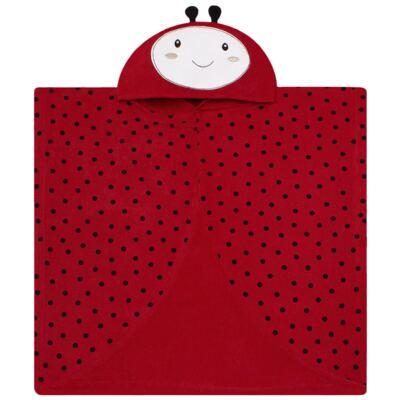 Imagem 1 do produto Toalha de vestir com capuz Ladybug - Classic for Baby