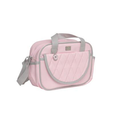 Imagem 4 do produto Mala maternidade + Bolsa + Frasqueira térmica Moon Rosa - Hey Baby