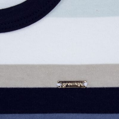 Imagem 3 do produto Camiseta com Shorts em algodão egípcio Ailu - Grow Up - 05010090.0003 CONJUNTO FLY AZUL-2