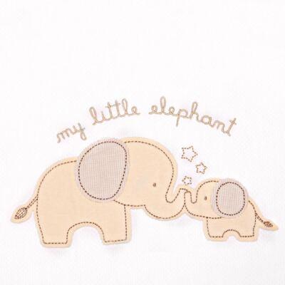 Imagem 2 do produto Jogo de lençol  para berço em malha Elephant - Classic for Baby