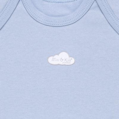 Imagem 2 do produto Camiseta manga curta em suedine Baby Protect Azul - Mini & Kids - CMTC1735 CAMISETA TRANSP. MC SUEDINE AZUL-GG