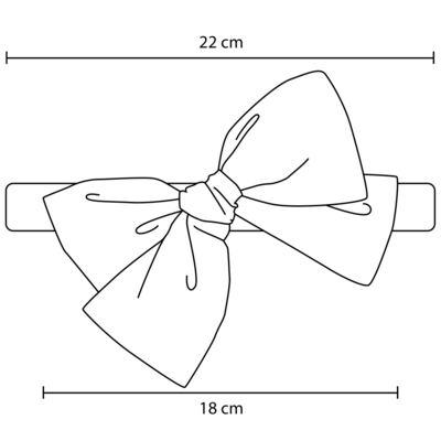Imagem 3 do produto Faixas Maxi Laço em tricoline Pink - Roana