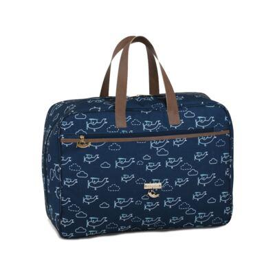 Imagem 1 do produto Mala maternidade Vintage Aviões - Masterbag