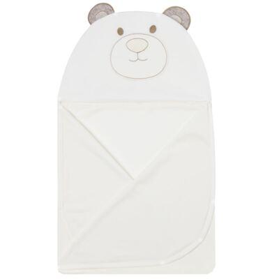 Imagem 2 do produto Toalha Max com capuz atoalhado Urso - Petit
