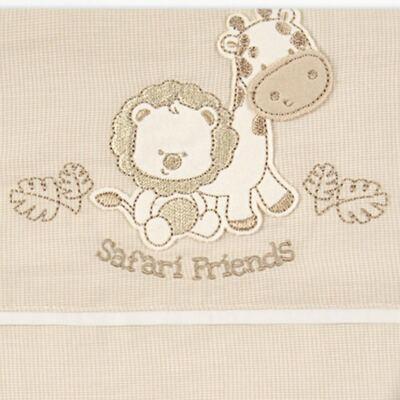 Imagem 2 do produto Jogo de lençol para berço em malha Simba Safari - Classic for Baby