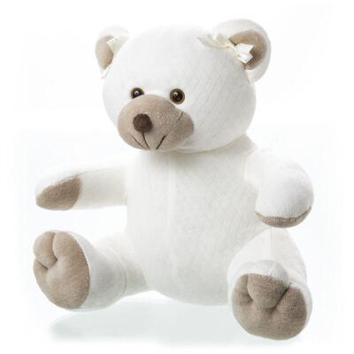 Imagem 2 do produto Kit: Bichinho Chocalho + Protetor de Pescoço para bebe Ursinha - Anjos Baby