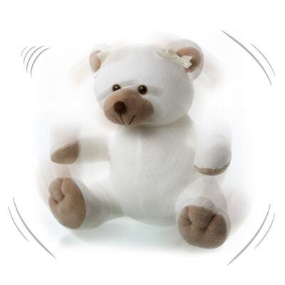 Imagem 4 do produto Kit: Bichinho Chocalho + Protetor de Pescoço para bebe Ursinha - Anjos Baby