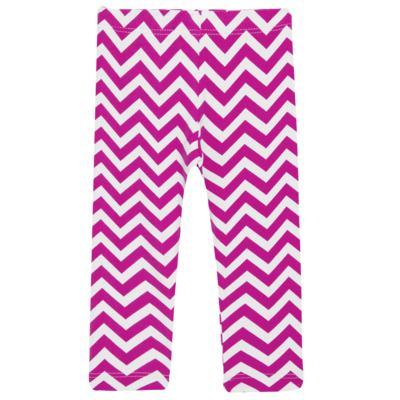 Imagem 2 do produto Legging c/ Faixa de cabelo para bebe em lycra Chevron Pink - Letiti - LTT03 LEGGING FAIXA LUMA PINK-GG