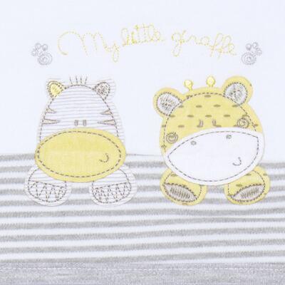 Imagem 2 do produto Jogo de lençol para berço em malha Nature Giraffe & Friends - Classic for Baby