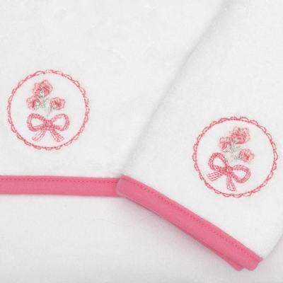 Imagem 2 do produto Kit com 2 fraldas de boca atoalhadas Bouquet - Classic for Baby