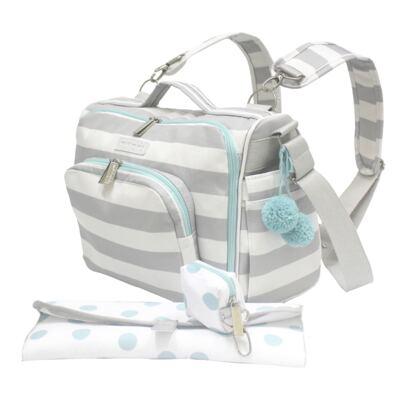 Imagem 2 do produto Bolsa para 2 em 1 bebe Julie Candy Colors Menta - Masterbag