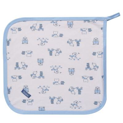 Imagem 4 do produto Kit com 3 fraldinhas de boca para bebe em malha Smart Bear - Dedeka