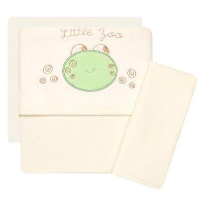 Imagem 1 do produto Jogo de lençol para carrinho em malha Little Frog - Classic for Baby