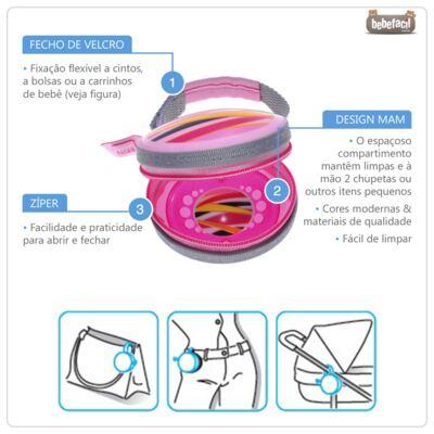 Imagem 2 do produto Porta Chupetas Pod (0m+) Girls - MAM