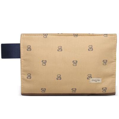 Imagem 1 do produto Mini Bolsa para bebe em sarja Caramelo Koala Baby - Classic for Baby Bags