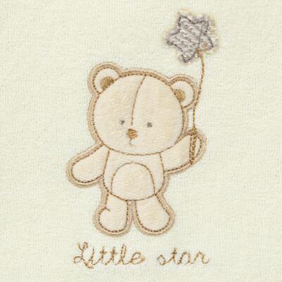 Imagem 2 do produto Saco para roupa suja atoalhado Nature Cute Bear - Classic for Baby