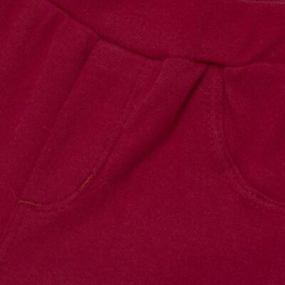 Imagem 6 do produto Body curto com Shorts para bebe em algodão egípcio c/ jato de cerâmica e filtro solar fps 50 Moranguinhos - Mini & Kids - BBI1745 CONJ BODY M/C C/ SHORTS SUEDINE MORANGOS-GG