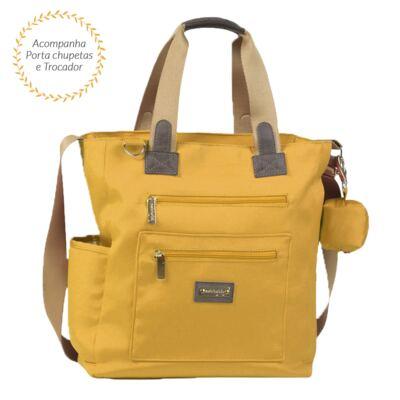 Imagem 1 do produto Bolsa para bebe Theo Urban Amarelo - Masterbag