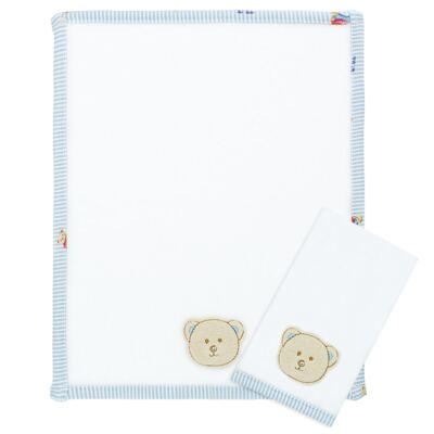 Imagem 1 do produto Kit com 2 fraldas de boca atoalhadas Kody Bear - Classic for Baby