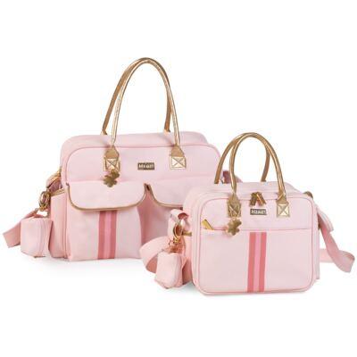 Imagem 1 do produto Bolsa Nice + Frasqueira organizadora Sweet Rosa - Masterbag
