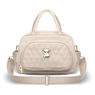 Imagem 4 do produto Kit Mala Maternidade para bebe + Bolsa Veneza + Frasqueira Térmica Milão + Kit Acessórios Golden Koala Caqui - Classic for Baby Bags