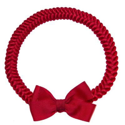 Imagem 1 do produto Faixa de cabelo trançada Laço Vermelho - Roana
