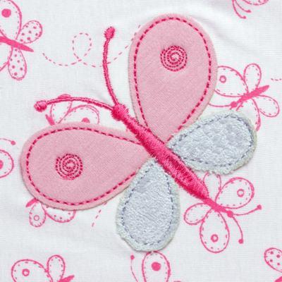 Imagem 2 do produto Manta para bebe forrada em malha Babele - Classic for Baby