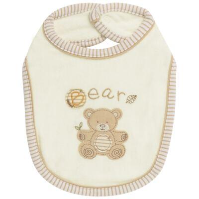 Imagem 1 do produto Babador para bebe atoalhado Nature Little Friend Bear - Classic for Baby