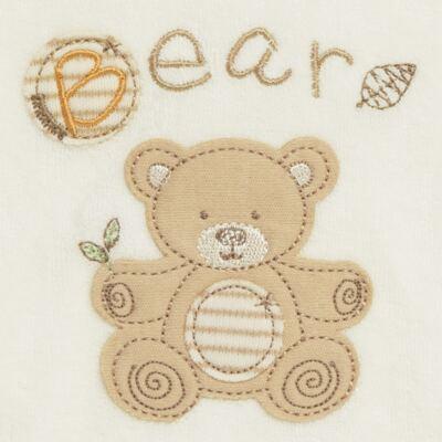 Imagem 2 do produto Babador para bebe atoalhado Nature Little Friend Bear - Classic for Baby