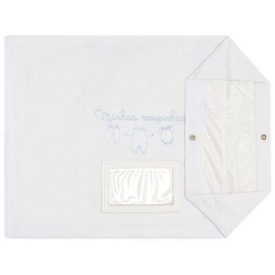 Imagem 3 do produto Kit 3 Saquinhos para maternidade Minhas Roupinhas Azul - Classic for Baby