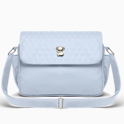 Imagem 1 do produto Bolsa maternidade para bebe Mônaco Golden Koala Azul  - Classic for Baby Bags
