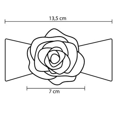 Imagem 3 do produto Faixa meia Flor Pink - Roana
