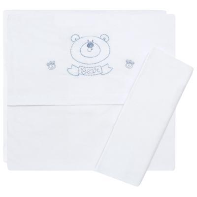 Imagem 1 do produto Jogo de lençol para berço em malha Urso - Classic for Baby