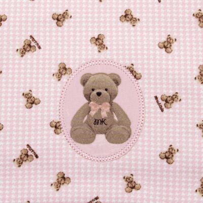 Imagem 2 do produto Jogo de lençol para berço em malha Teddy Sammy - Classic for Baby