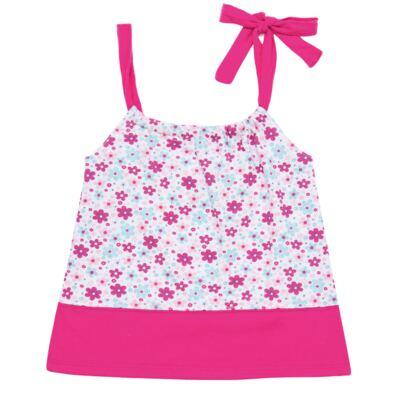 Imagem 1 do produto Vestido para bebe em malha Little Cute - Vicky Lipe - 22771362 VESTIDO ALCINHA MALHA ELEFANTINHO-G