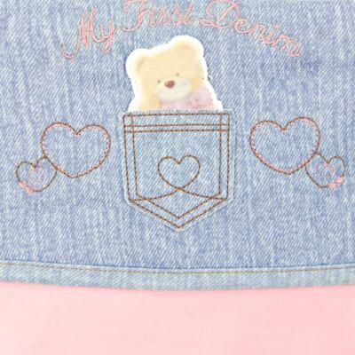 Imagem 2 do produto Jogo de lençol para carrinho em malha My First Denim Girl - Classic for Baby