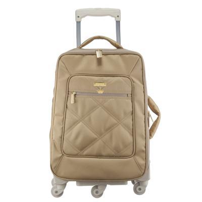Imagem 1 do produto Mala Maternidade com rodízio Caqui Classic Golden - Masterbag