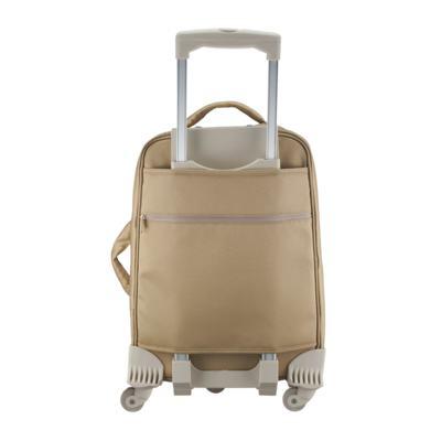 Imagem 3 do produto Mala Maternidade com rodízio Caqui Classic Golden - Masterbag
