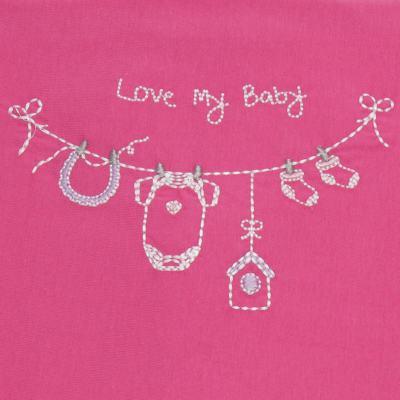 Imagem 2 do produto Jogo de lençol para berço em malha Clothes Girl - Classic for Baby