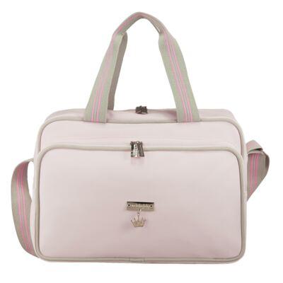 Imagem 2 do produto Bolsa + Frasqueira para bebe Clean Collection Rosa - Masterbag